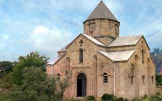 Армянский храм в селении Нюгди