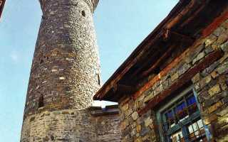 Мечеть в селении Ихрек