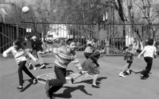 7 стёклышек — подвижная дворовая игра