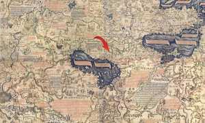 1450 Карта Фра Мауро