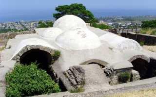 Ханские бани (VII В.) памятник архитектуры