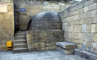 Водохранилище (VI-IX ВВ.) архитектурное чудо Дербентской крепости