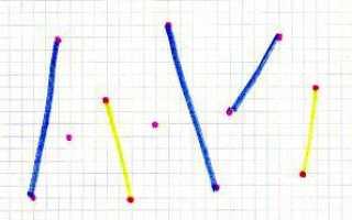 Точки и отрезки — игра на бумаге