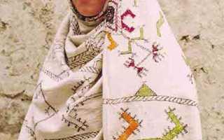 Вышивки — покрывала селений Усиша и Зилмук