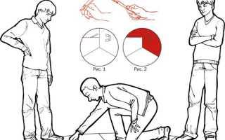 Игра в Ножички на земле: правила