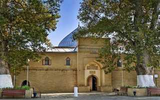 Джума мечеть — панорама