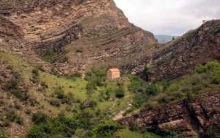 Древний христианский храм Датуна