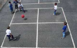 Квадрат — игра тренировка для футбола