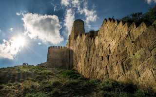 Главные оборонительные сооружения Дербентской крепости