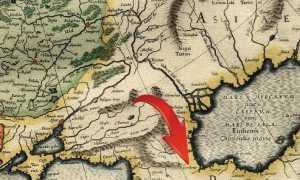 1544 Карта Меркатора