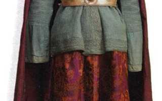 Дагестанский народный костюм