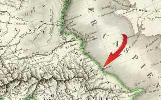 1816 Английская карта