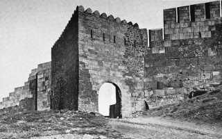Цитадель старый город и крепостные сооружения Дербента