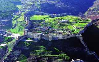 Секреты древних стен Дербента, горная стена