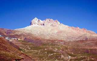 Шалбуздаг дагестанская Фудзияма, восхождение на гору