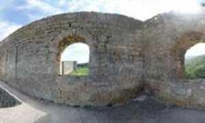 Дербентская крепость — панорама