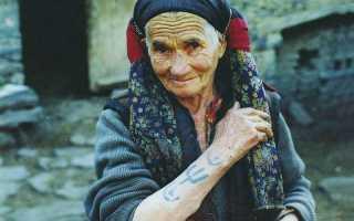 Символы правят миром. Феномен дагестанской женской татуировки