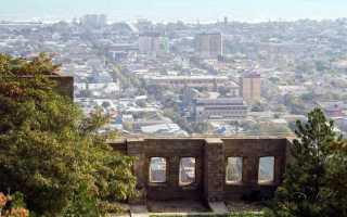 Древнейшие поселения и города в прикаспийском проходе