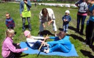 Перетягивание палки — силовая игра