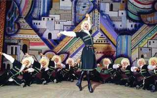 «Лезгинка» — легенда дагестанского танца, танец жизни