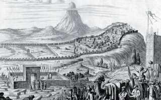 Укрепления «длинные стены» в прикаспийском проходе