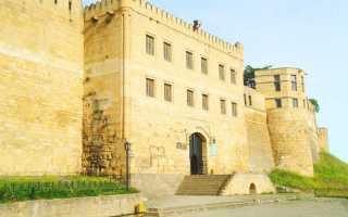 Нарын-кала-капы (VI век) — главные ворота цитадели