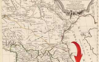 1783 Французская карта