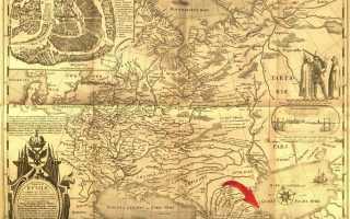 1614 Карта земли Московской