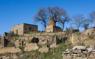 Кала-Корейш — село-призрак в высокогорном Дагестане