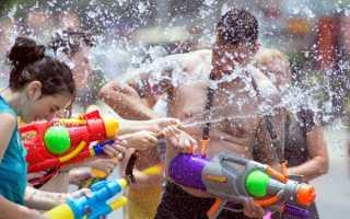 Брызгалки — игра для понижения температуры тела летом