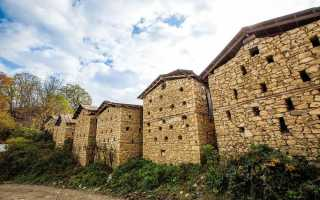 Сараи для сена, организация жилищного комплекса