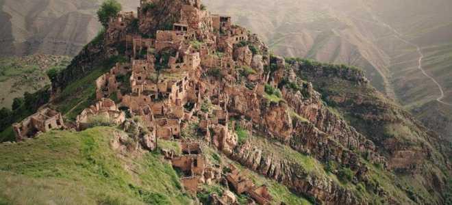 Гамсутль — село призрак