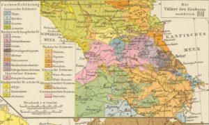 Карта Кавказа, 1881