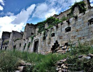 Аул Кулла. Гунибский район. Старая часть села.