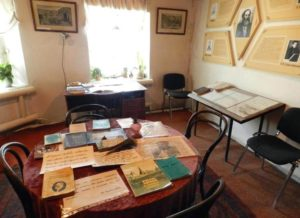 Дом музей Бестужева-Марлинского, кабинет