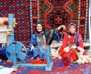 Чухта, табасаранские женщины