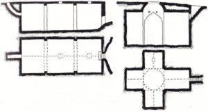 Цистерна в цитадели Планы и разрезы