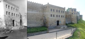 Центральная часть крепости Нарын-Кала