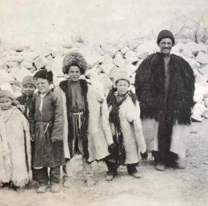 Дагестанцы. Фото середина прошлого века.