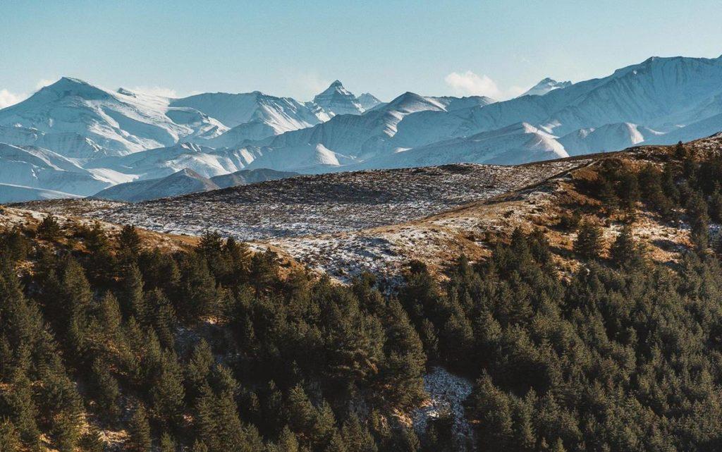 Дагестанские горы. Фото 2020.