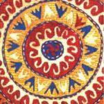 Орнамент на даргинском ковре