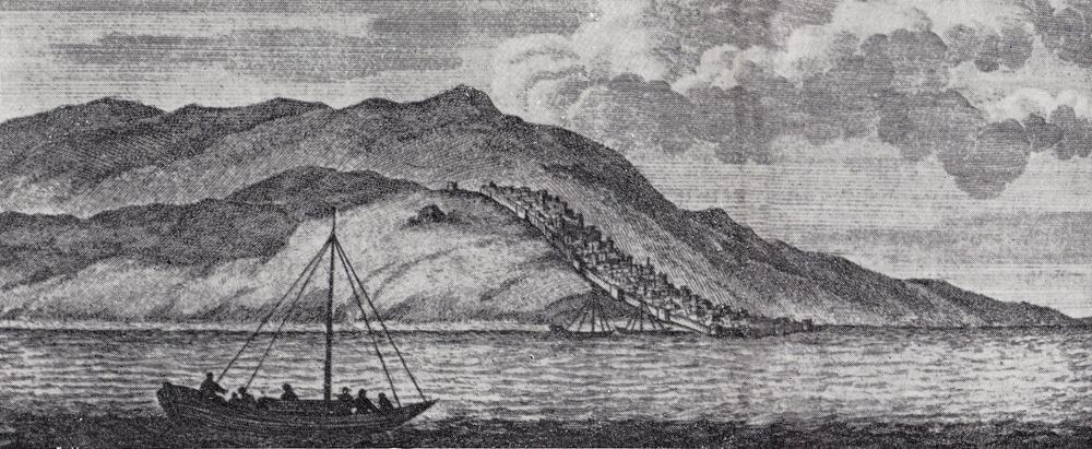 Дербент 1703 год гравюра
