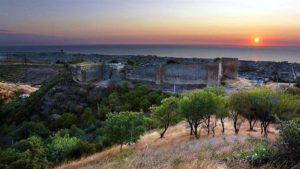 Крепость, Дербент, восход