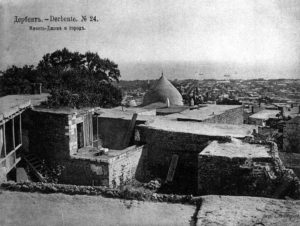 Джума мечеть и панорама Дербента