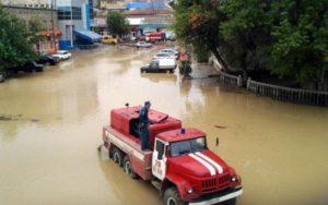 Дербент, потоп в 2010 году