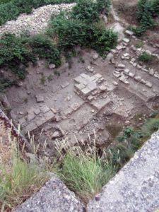 Раскопки в крепости
