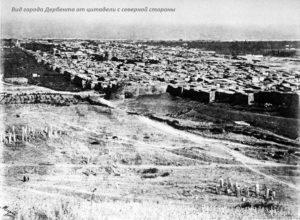 Дербентская крепость - северная стена