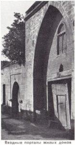 Входы в порталы жилых домов