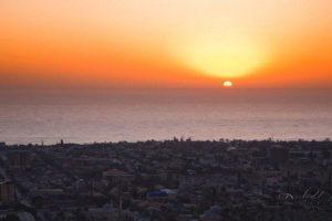 Дербент, восход солнца