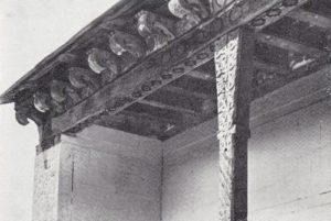 Мечеть в Джули. Фрагмент фасада
